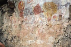 Monte Alegre - pintura rupestre
